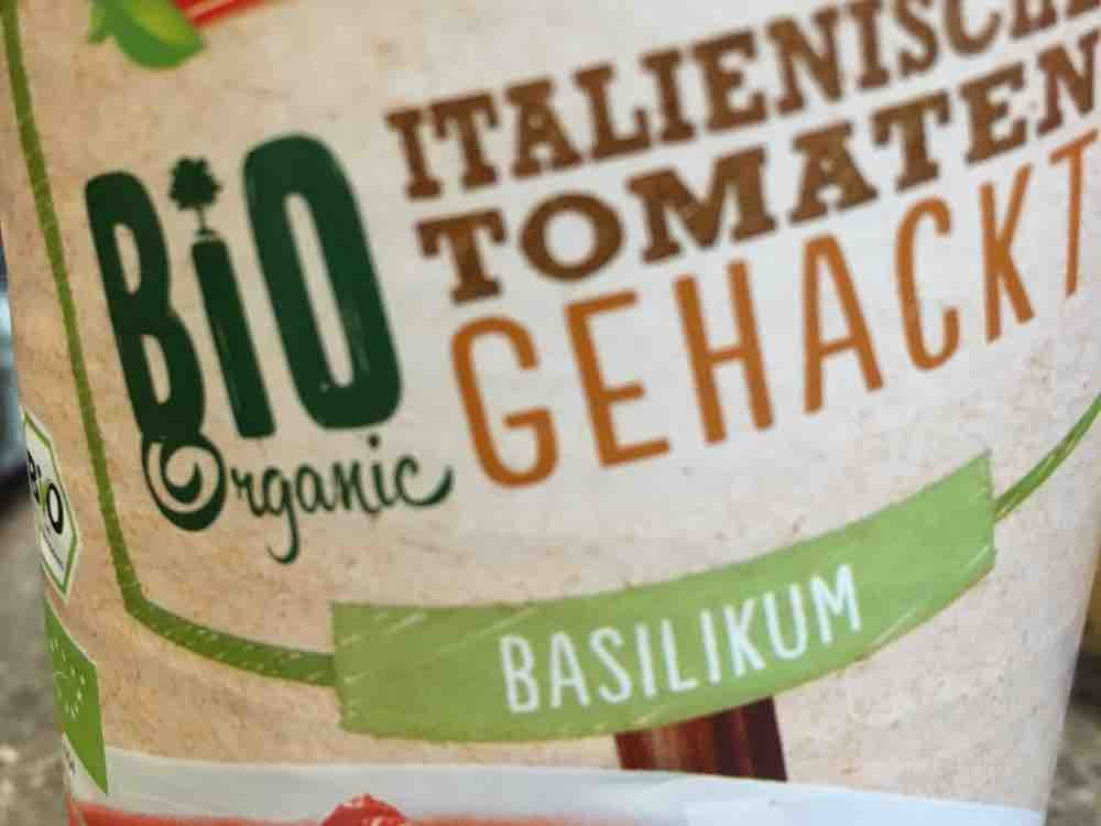 Bio Gehackte Tomaten , Basilikum  von Fitnessgott | Hochgeladen von: Fitnessgott
