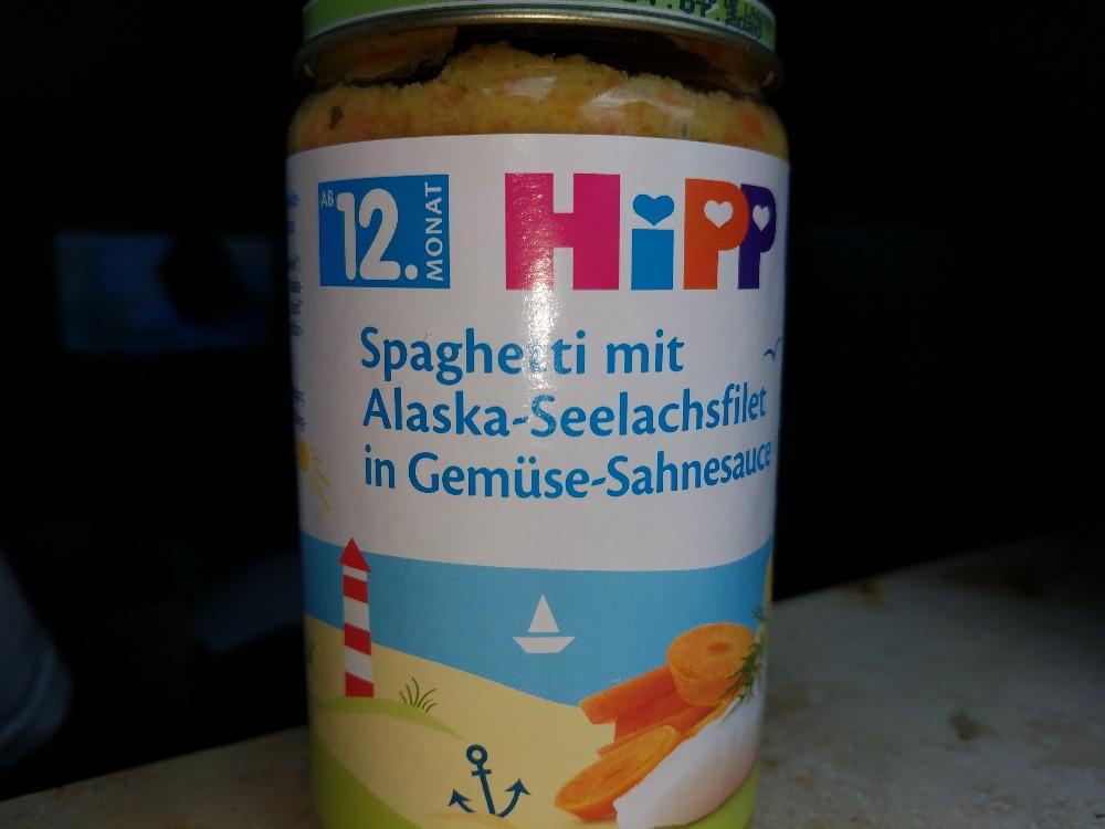 Spaghetti mit Alaska-Seelachsfilet in Gemüse-Sahnesauce von Clemens1271 | Hochgeladen von: Clemens1271