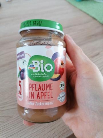 dm Bio Pflaume in Apfel, Babyobstbrei von juliagoeschljg887   Hochgeladen von: juliagoeschljg887