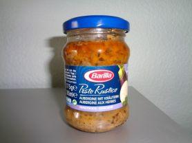 Barilla Pesto Rustico , Aubergine mit Kräutern | Hochgeladen von: Fluhgut