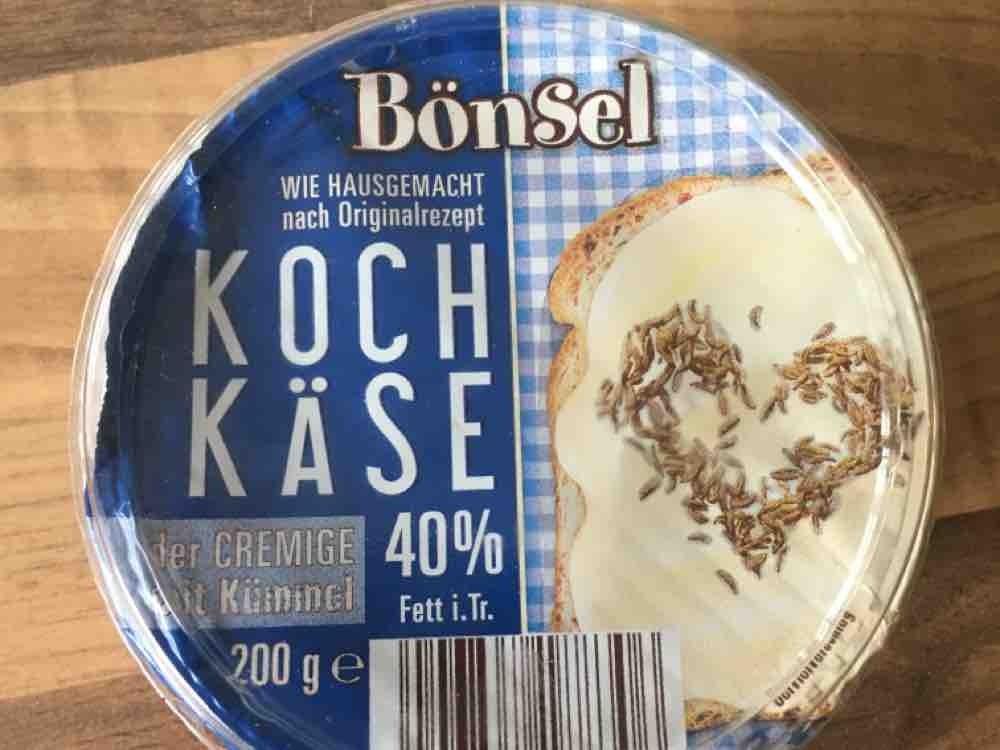 Kochkäse 40 %   der CREMIGE mit Kümmel   (Bönsel) von Maikell | Hochgeladen von: Maikell