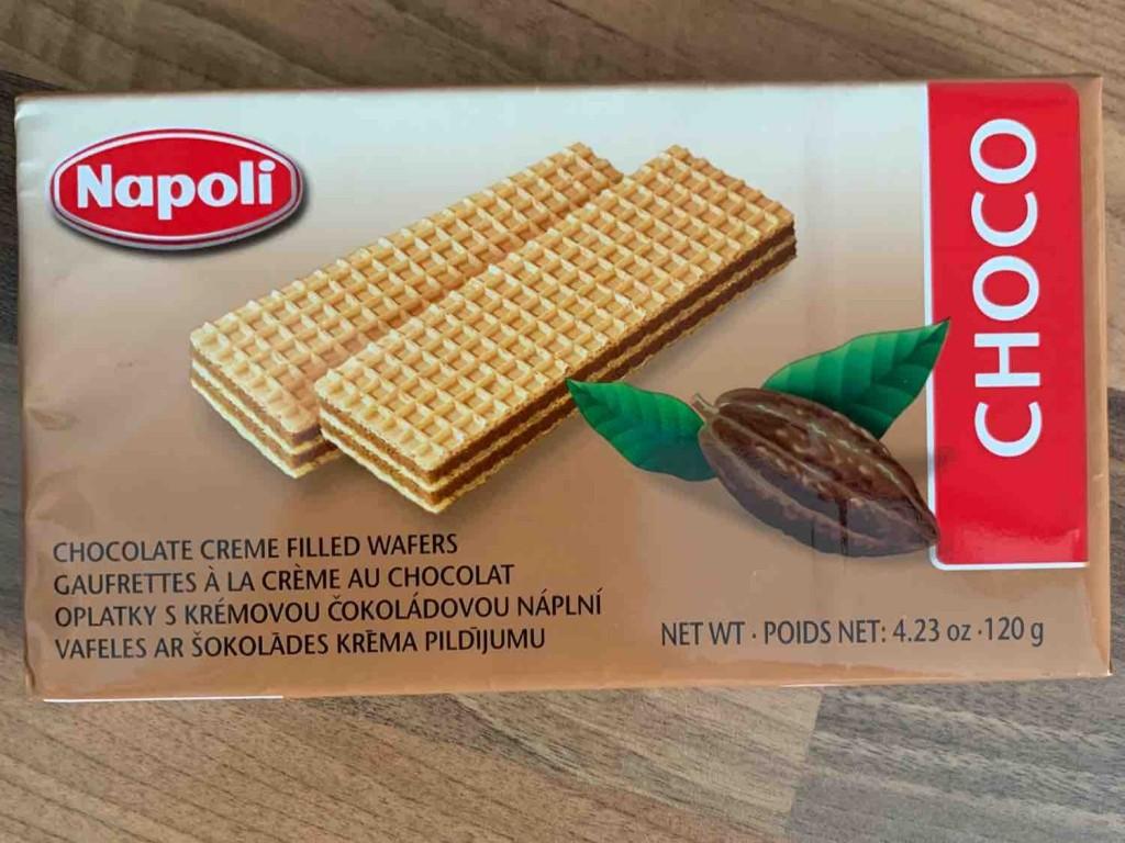 Napoli Choco, knusprige Waffeln mit Schokocremefüllung von ceeelgo | Hochgeladen von: ceeelgo