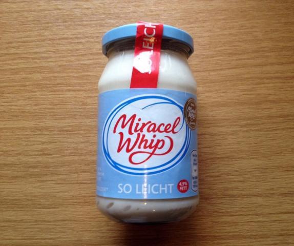 Miracel Whip, So leicht | Hochgeladen von: xmellixx