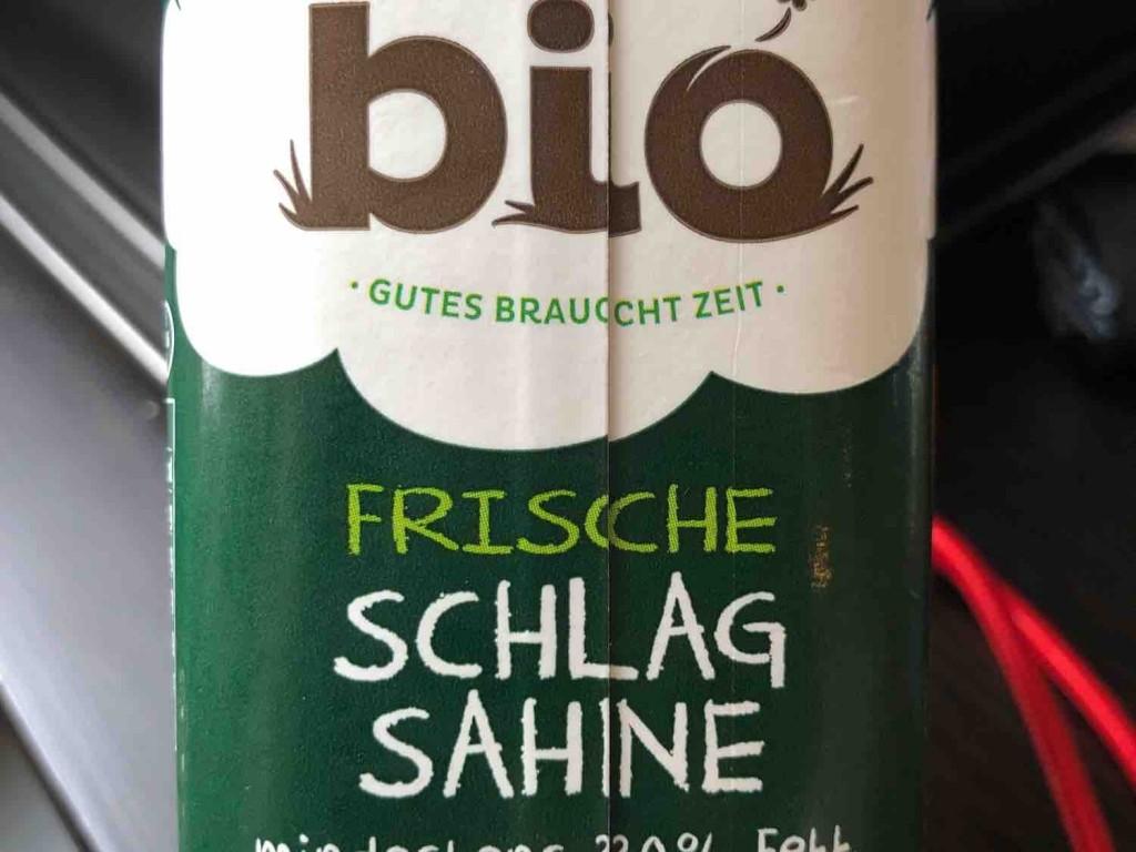 Frische Bio Schlagsahne mind. 30% Fett von Strub | Hochgeladen von: Strub