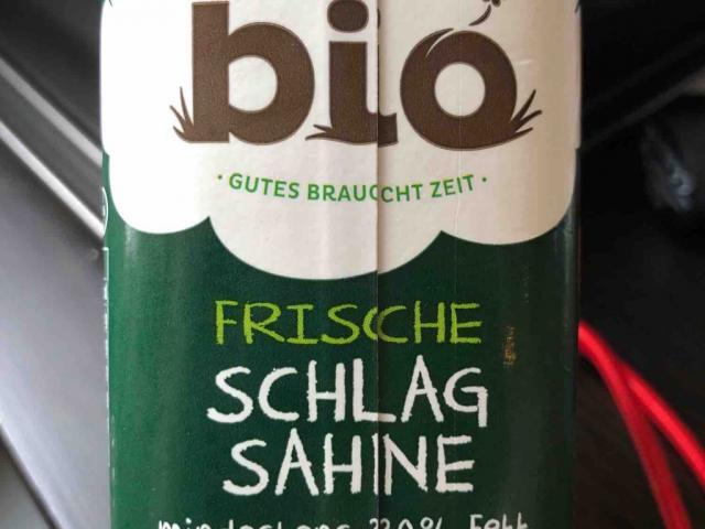 Frische Bio Schlagsahne mind. 30% Fett von Strub   Hochgeladen von: Strub