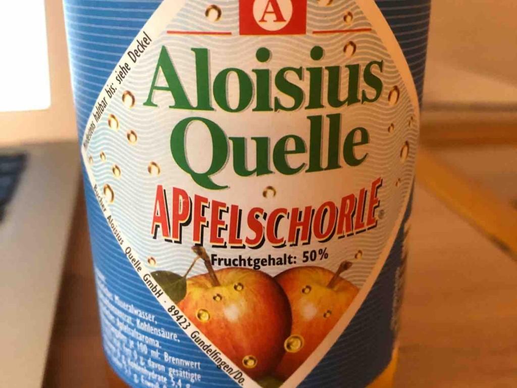 Aloisius Quelle Apfelschorle, Apfelschorle von JNSchuermann   Hochgeladen von: JNSchuermann