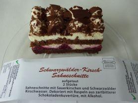 Monarc Schwarzwalder Kirsch Sahneschnitte Aldi Kalorien Kuchen