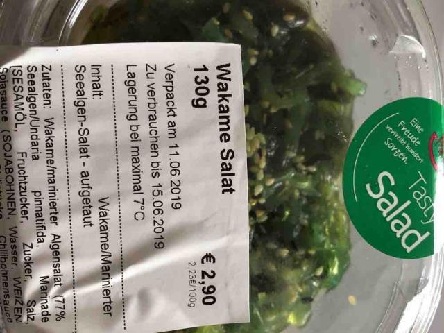 Wakame Salat von palmerfreak | Hochgeladen von: palmerfreak