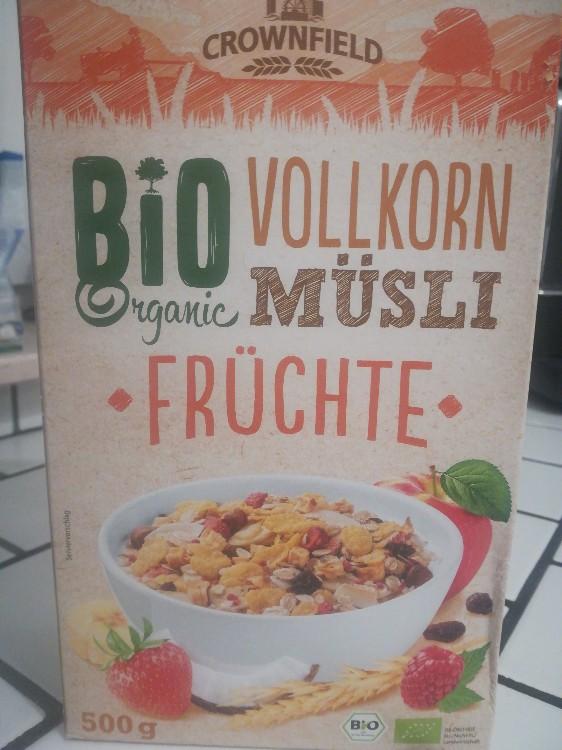 Vollkorn Müsli Früchte, Bio von melinagina599 | Hochgeladen von: melinagina599