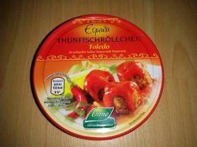 Espana Thunfischröllchen Toledo, Scharfe Sauce mit Peperoni | Hochgeladen von: Keelhaul
