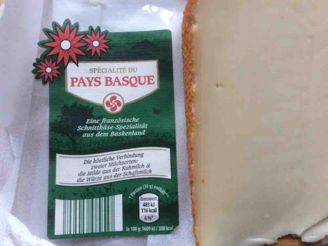 Specialité du Pays Basque, Frz. Schnittkäse aus Kuh- und Schafmilch von Binia | Hochgeladen von: Binia