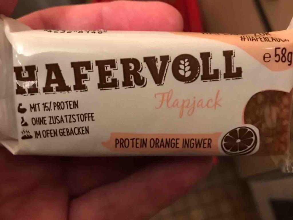Protein  Orange  Ingwer, flapjack  von mickeywiese   Hochgeladen von: mickeywiese
