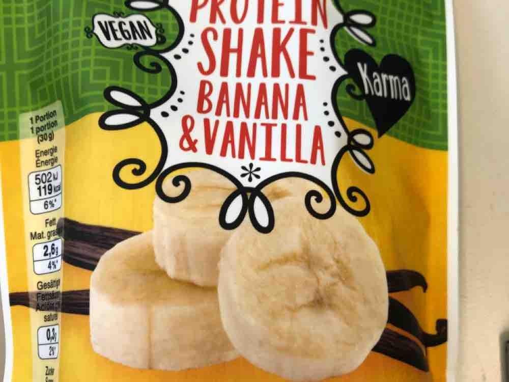 Proteinshakw Banana Vanilla von Naesty | Hochgeladen von: Naesty