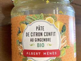 Pate de Citron Confit au Gingembre bio, Zitrone/Ingwer   Hochgeladen von: Fonseca