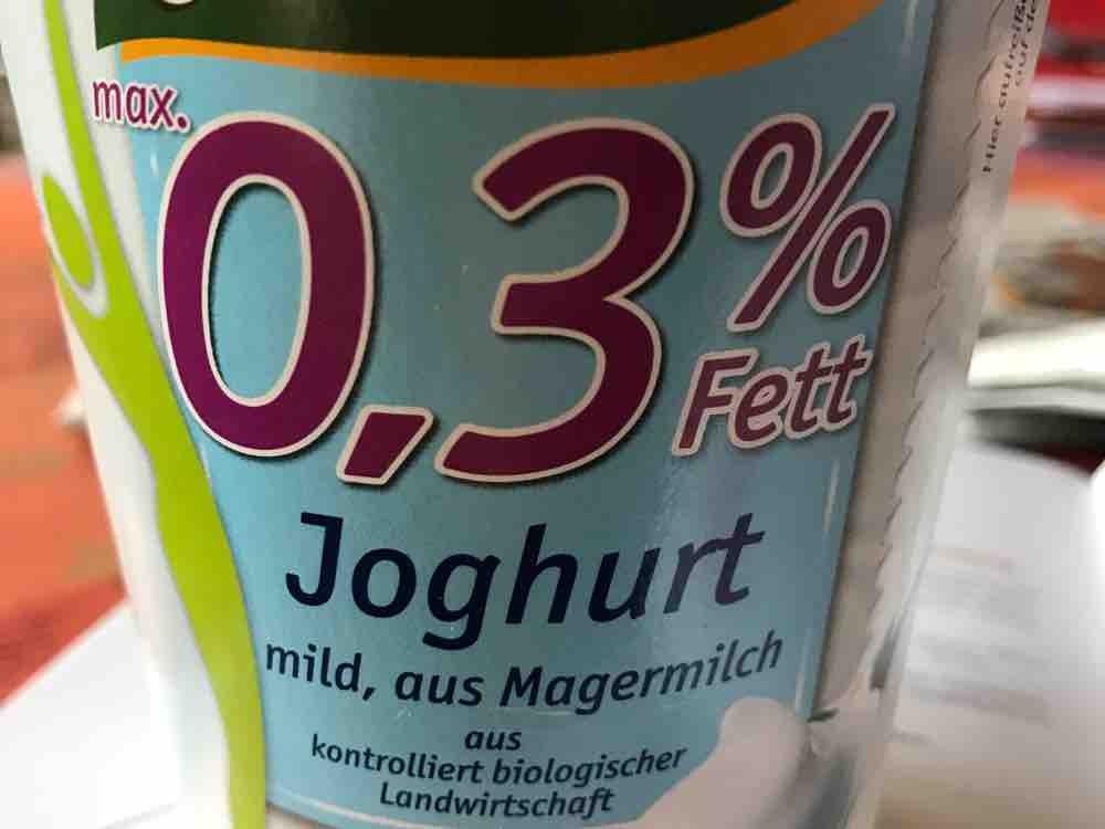 Joghurt Bio 0,3 %, mild, aus Magermilch von david11572 | Hochgeladen von: david11572