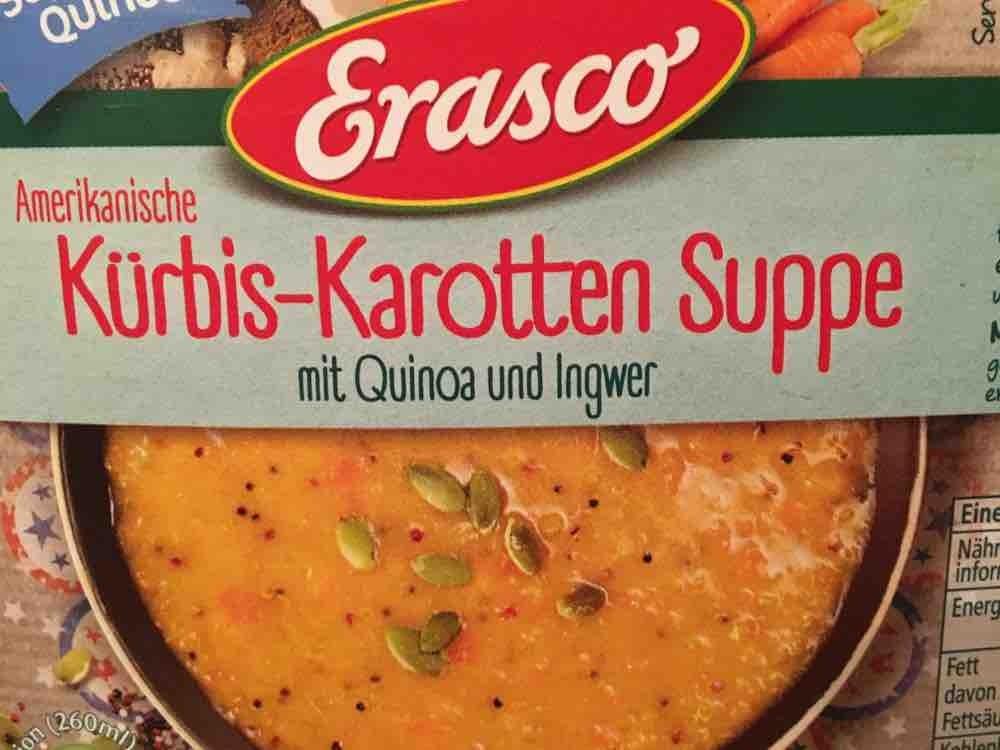 Amerikanische Kürbis-Karotten Suppe mit Quinoa und Ingwer von PeGaSus16   Hochgeladen von: PeGaSus16