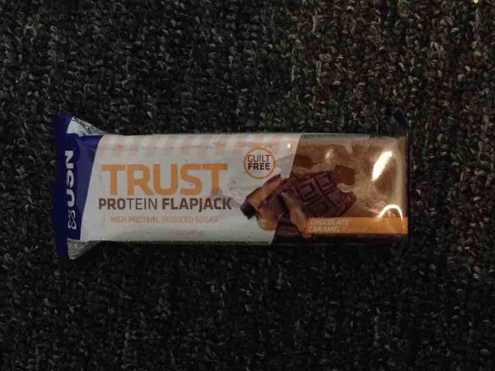 Trust Protein Flapjack Chocolate Caramel von Eva Schokolade | Hochgeladen von: Eva Schokolade