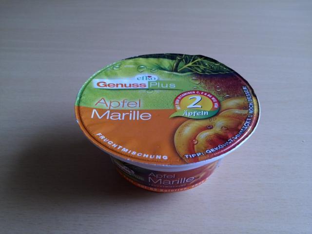 Efko GenussPlus Fruchtmischung, Apfel-Marille | Hochgeladen von: Sonja1966