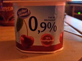0,9% Joghurt, Kirsche | Hochgeladen von: Sabine34Berlin