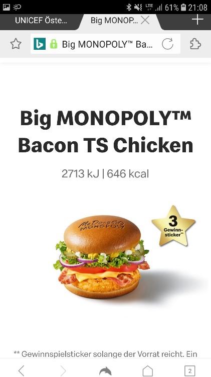 Big Monopoly Bacon TS von Langefeld | Hochgeladen von: Langefeld