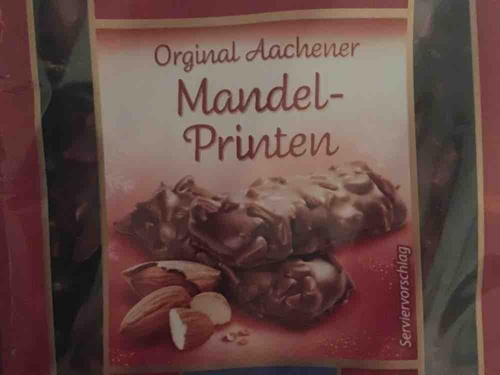 Orirginal Aachner Mandel Printen, mit Vollmilchschokolade von ckroen287 | Hochgeladen von: ckroen287