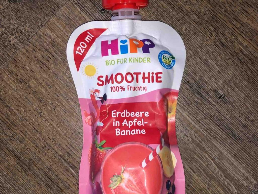 Hipp Smoothie Mix Rote Früchte in Apfel-Banane von idek   Hochgeladen von: idek