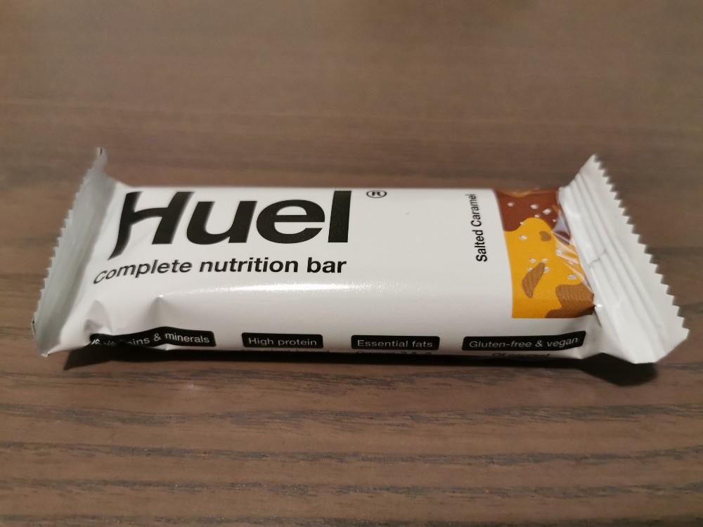 Huel Riegel 3.1 complete nutrition bar, Salted Caramel / Salz-Karamell von krapfen | Hochgeladen von: krapfen
