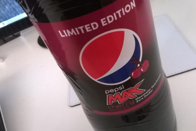 Pepsi Max, cherry | Hochgeladen von: TomKiwi