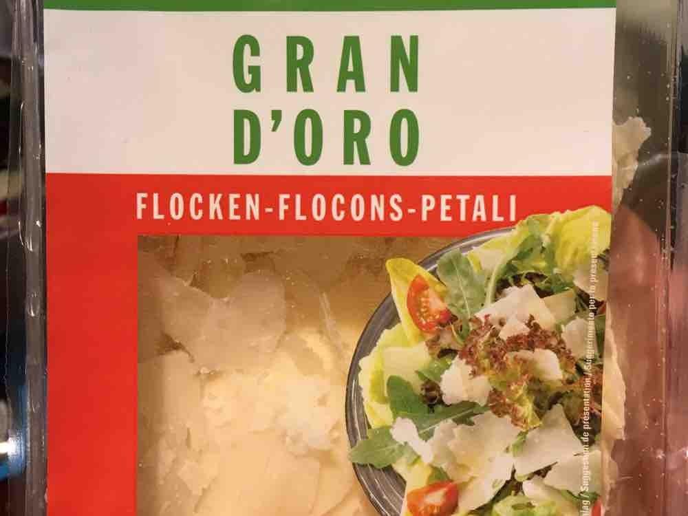 Grana Padano Flocken, 28 Gramm Fett von PARN | Hochgeladen von: PARN
