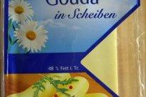 Gouda, 48% Fett i. Tr., in Scheiben | Hochgeladen von: Graphologe