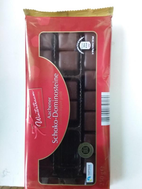 Aachener Schoko-Dominosteine, Zartbitter doppelt gefüllt 12,5 g von muehmoidl   Hochgeladen von: muehmoidl