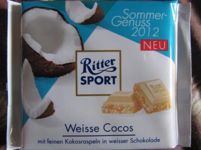 Ritter Sport, Weisse Cocos | Hochgeladen von: marina5376