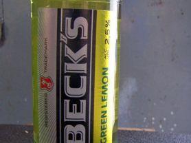 Becks Green Lemon   Hochgeladen von: stda