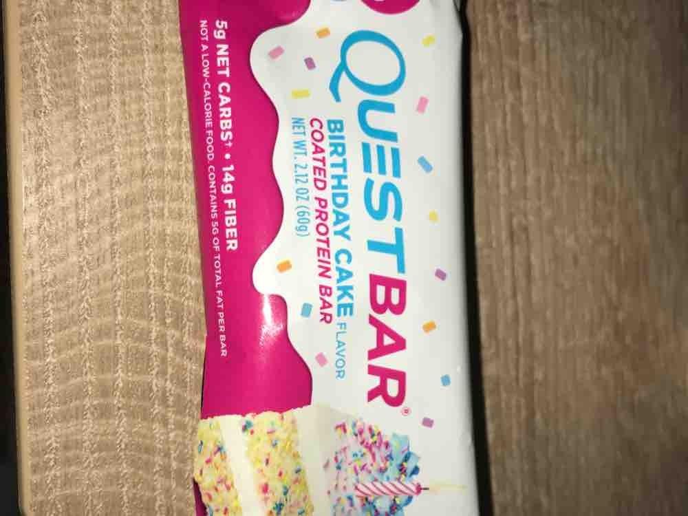 Quest Nutrition Questbar Birthday Cake Kalorien