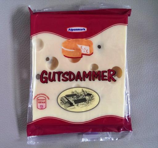 Alpenmark Käse Gutsdamer | Hochgeladen von: mmtarget