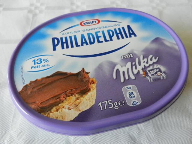 Schokogenuss Philadelphia mit Milka   Hochgeladen von: maeuseturm
