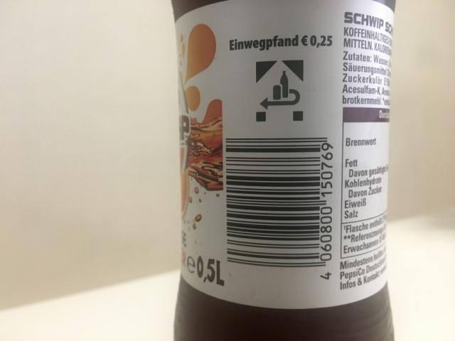Schwip Schwap ohne Zucker, Cola+Orange | Hochgeladen von: TomKiwi