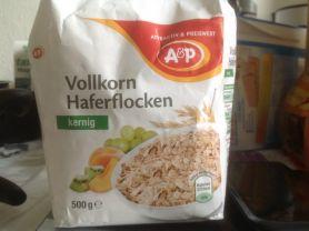A&P Volkorn Haferflocken Kernig | Hochgeladen von: xtinak