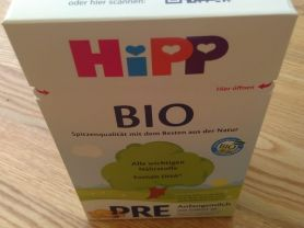 Hipp PRE Bio Anfangsmilch, trinkfertig zubereitet | Hochgeladen von: janix