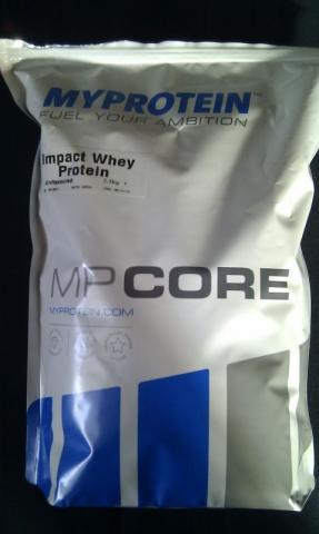 MyProtein Impact Whey, geschmacksneutral | Hochgeladen von: nomatt3r
