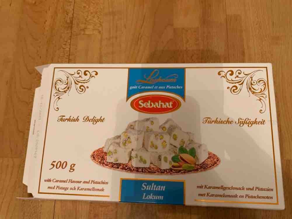 Sultan Lokum, Karamellgeschmack mit Pistazie von Duleve | Hochgeladen von: Duleve