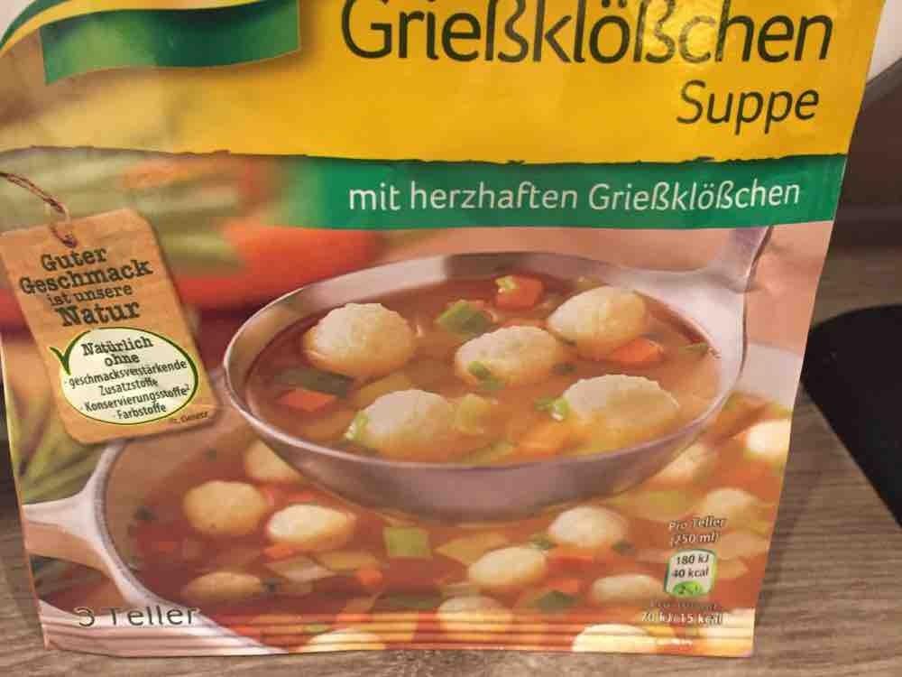 Grießklößchensuppe von martinaschranz786 | Hochgeladen von: martinaschranz786