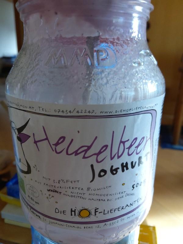 Heidelbeer Joghurt von hfo7 | Hochgeladen von: hfo7