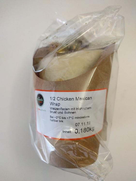 1/2 Chicken Mexican Wrap von Kinderriegel   Hochgeladen von: Kinderriegel