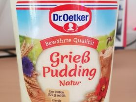 Dr. Oetger Grieß Pudding Natur, Natur   Hochgeladen von: Jens Harras