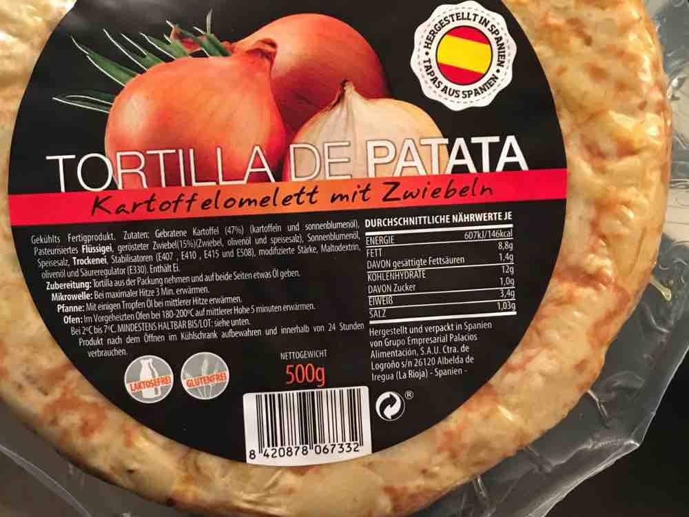 Tortilla Espanola, Kartoffelomlett mit Zwiebel von Perryjunior | Hochgeladen von: Perryjunior