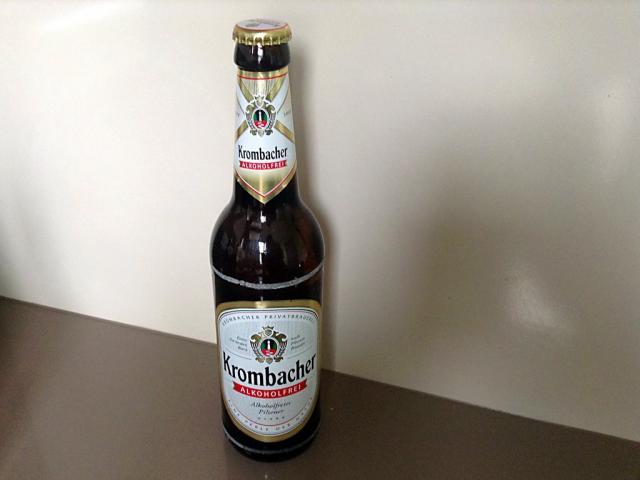 Krombacher alkoholfrei, Bier   Hochgeladen von: swainn