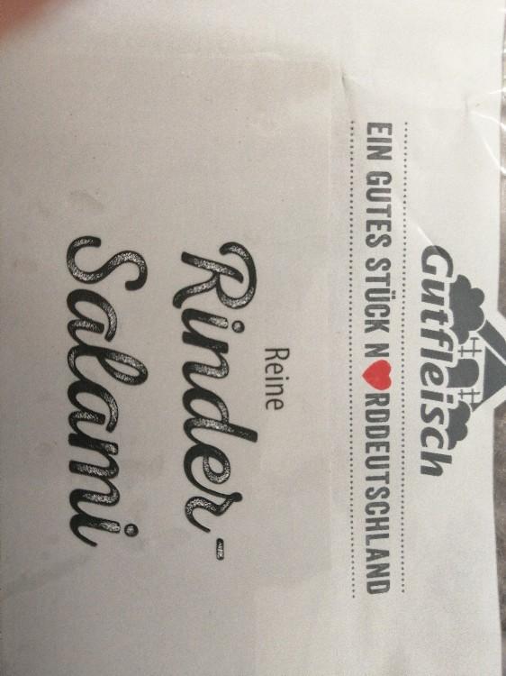 Rinds-Salami von teutonenhans | Hochgeladen von: teutonenhans