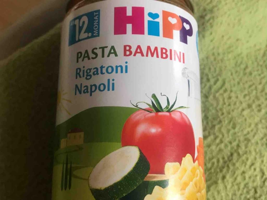Hipp, Pasta Bambini, Rigatoni Napoli von patty1008   Hochgeladen von: patty1008