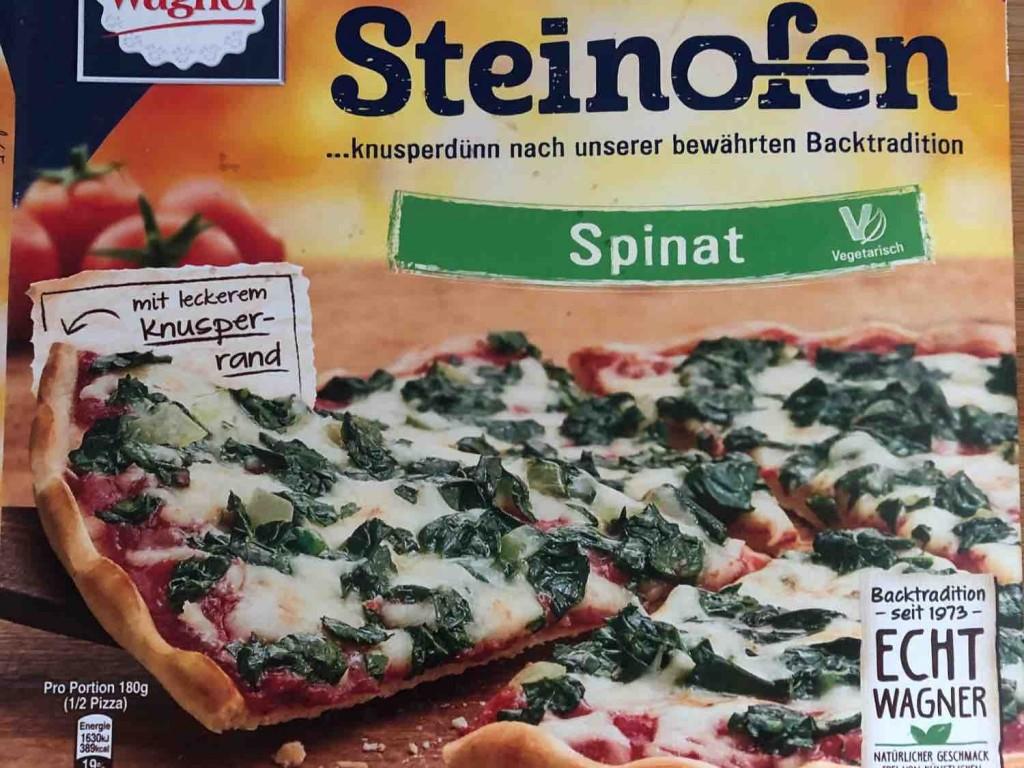 Steinofen Pizza, Spinat von JNSchuermann | Hochgeladen von: JNSchuermann